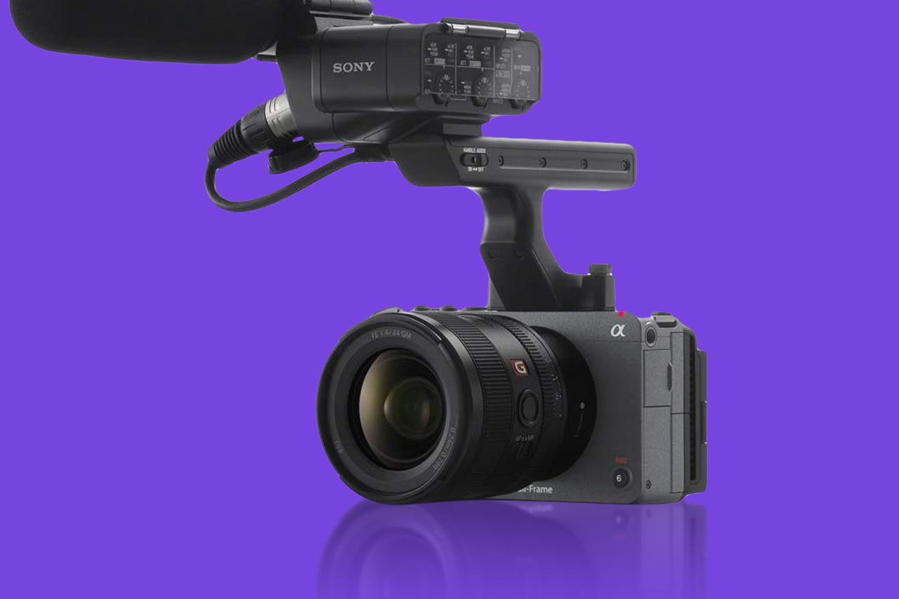 Sony - Fx3-mairrorless camera