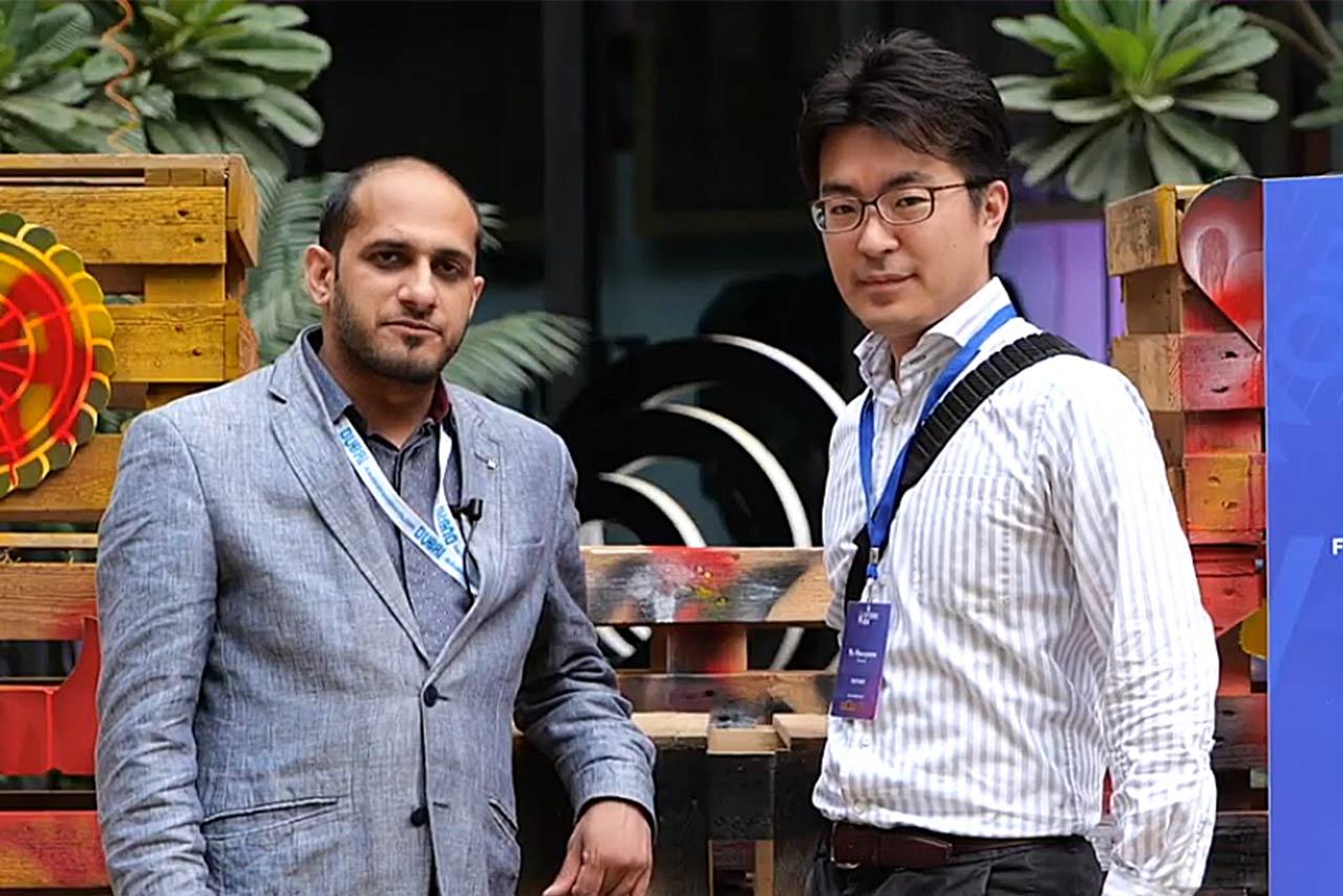 Hitesh-Vig---Yu-Haruyama- talk about the energy and zeel