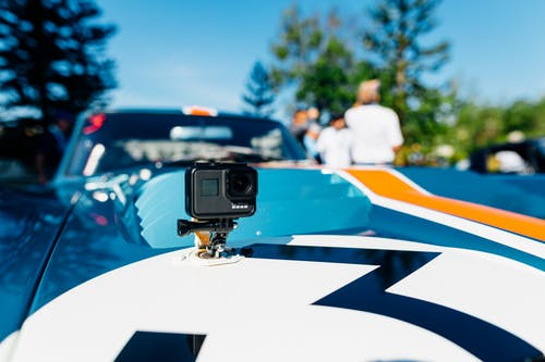 Use your action camera to capture daily shots